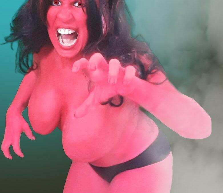Demon Bodypaint Cosplay