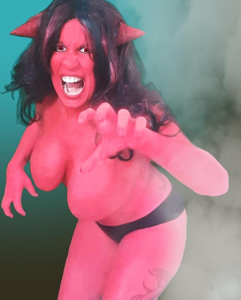 Demon Bodypaint Cosplay   Daisy Chain Cosplay
