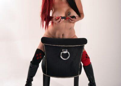 Sex Metal Harley Quinn Cosplay - Daisy Chain Cosplay