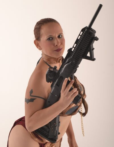 Slave Leia Cosplay - Daisy Chain Cosplay