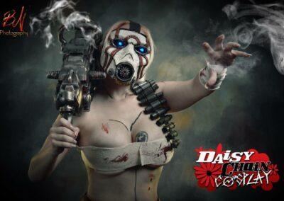 Sexy Female Borderlands Psycho - Daisy Chain Cosplay